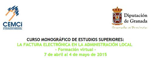 Curso monográfico de estudios superiores: La factura electrónica en la Administración Local (I Edición)